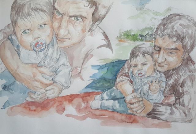 Charlie 14 : illustration aquarelle