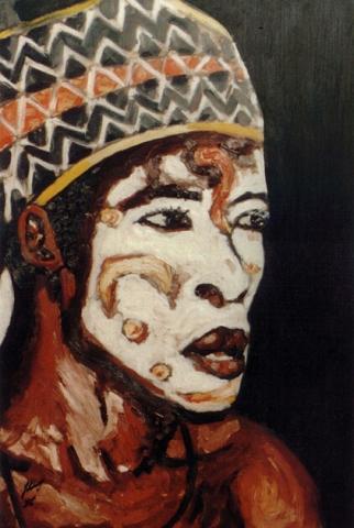 Sénégal 12 : peinture à l'huile