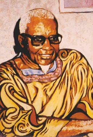 Sénégal 5 : peinture à l'huile