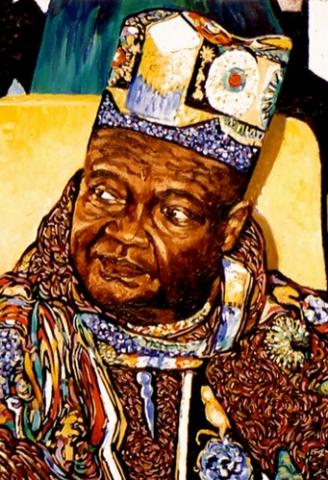 Sénégal 9 : peinture à l'huile