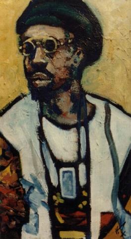 Sénégal 7 : peinture à l'huile